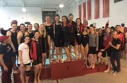 CSG Swim and Dive Teams Dominate the Competition