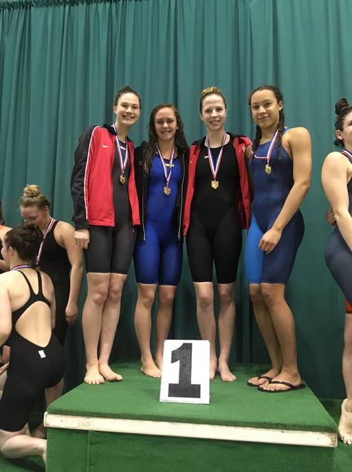 CSG Roundup: Swimming team earns district title