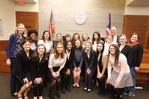 CSG mock trial team advances to state competition