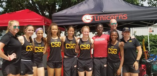 CSG Roundup: Babatunde leads track team at state meet